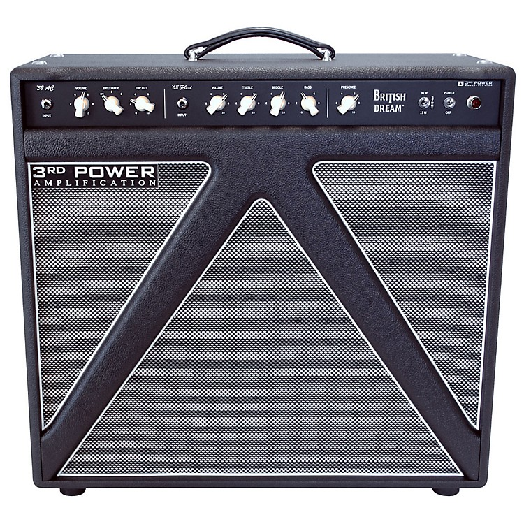3rd Power Amps British Dream 30W 1x12 Tube Guitar Combo Amp Black