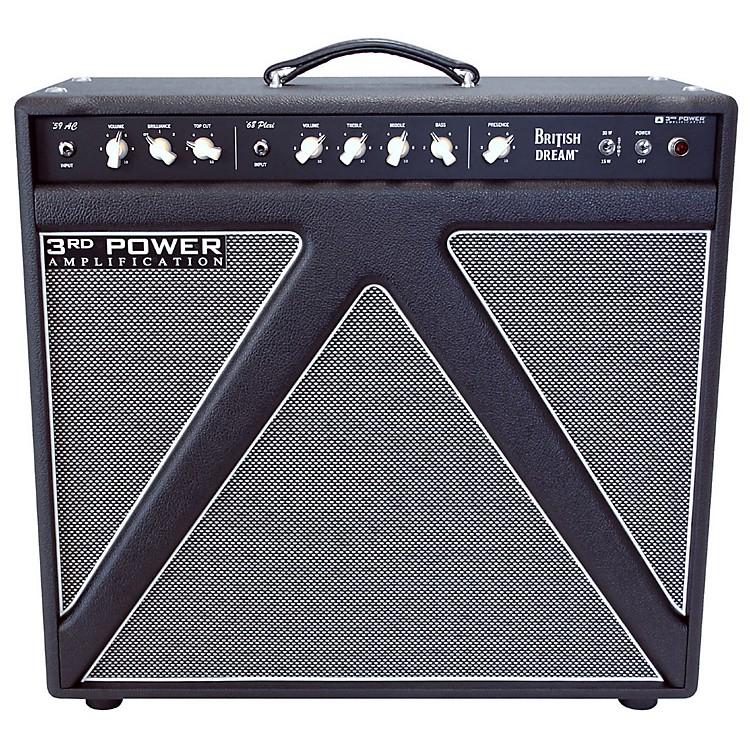 3rd Power AmpsBritish Dream 30W 1x12 Tube Guitar Combo AmpBlack