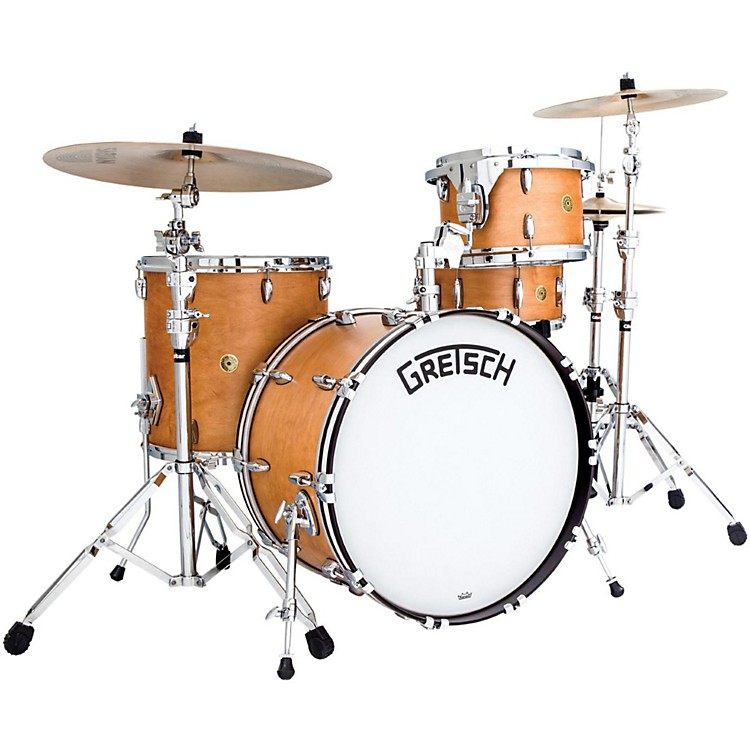 Gretsch Drums Broadkaster Series 3-Piece Shell Pack Satin Classic Maple