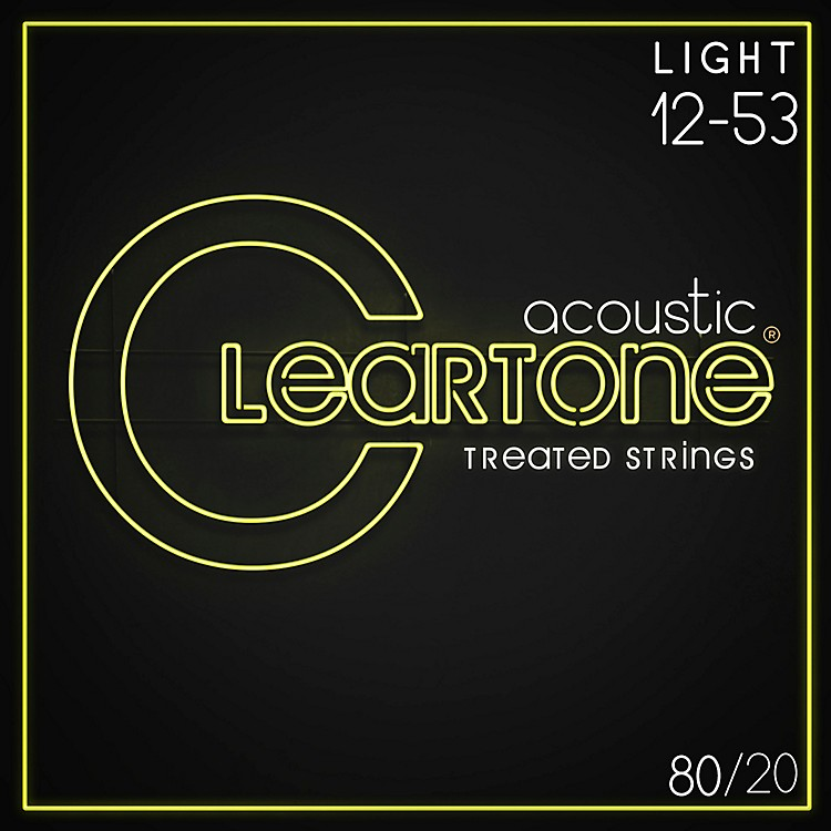 Cleartone Bronze Acoustic Guitar Strings Light
