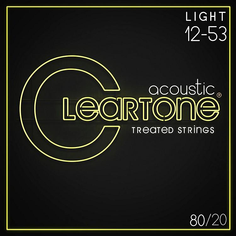 CleartoneBronze Acoustic Guitar StringsLight