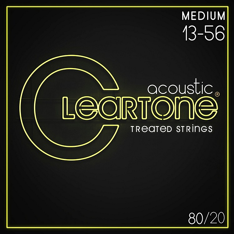 Cleartone Bronze Acoustic Guitar Strings Medium