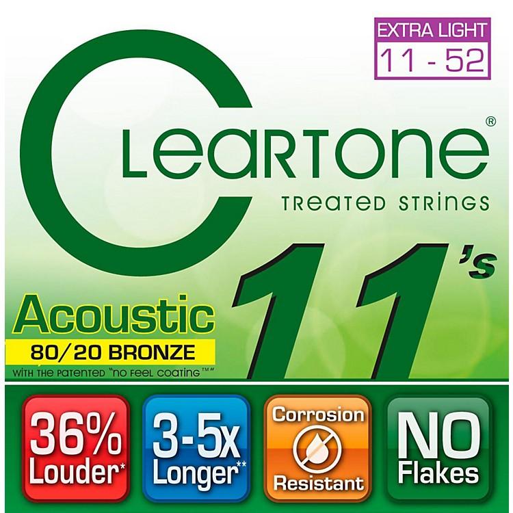 CleartoneBronze Custom Acoustic Guitar StringsLight