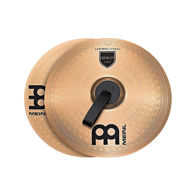 MeinlBronze Marching Medium Cymbal Pair14 in.