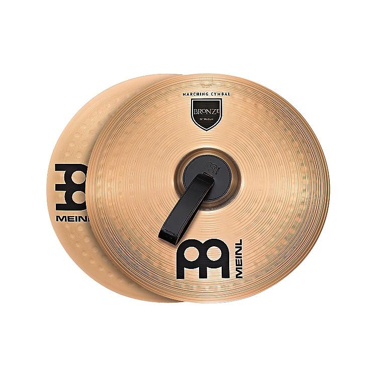 MeinlBronze Marching Medium Cymbal Pair