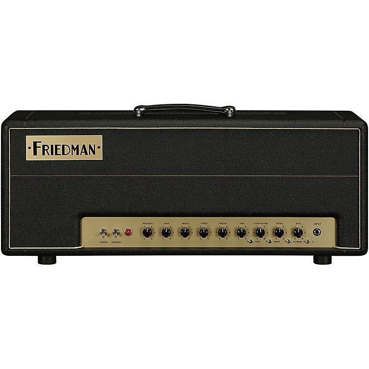 Friedman Brown Eye 100W 2CH Tube Guitar Head Black