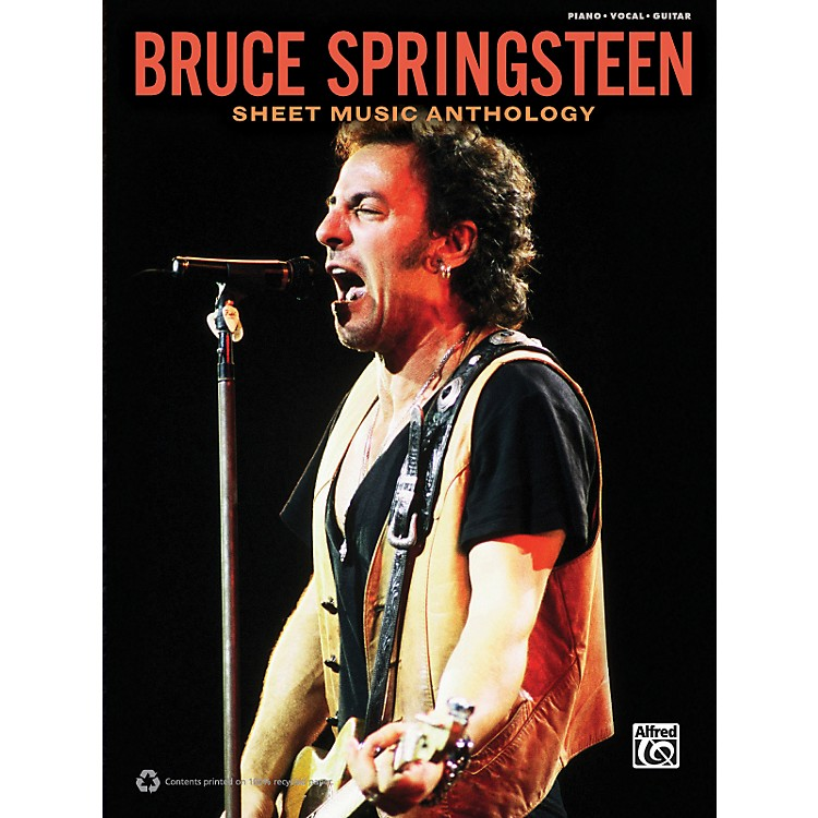 Alfred Bruce Springsteen - Sheet Music Anthology Book