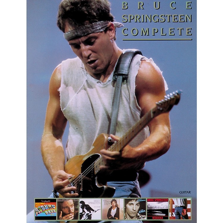 Alfred Bruce Springsteen Complete Guitar/Vocal/ Chords