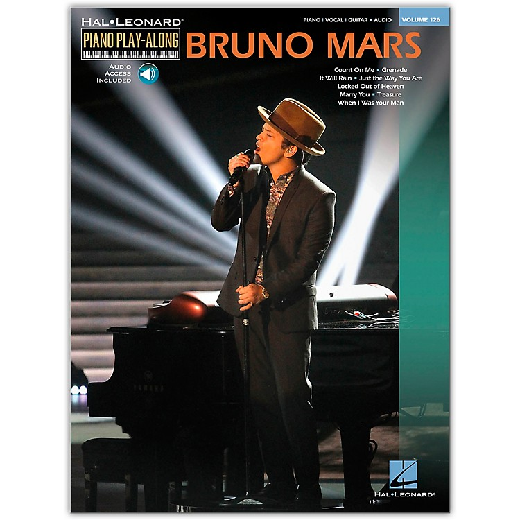 Hal Leonard Bruno Mars - Piano Play-Along Volume 126 Book/CD