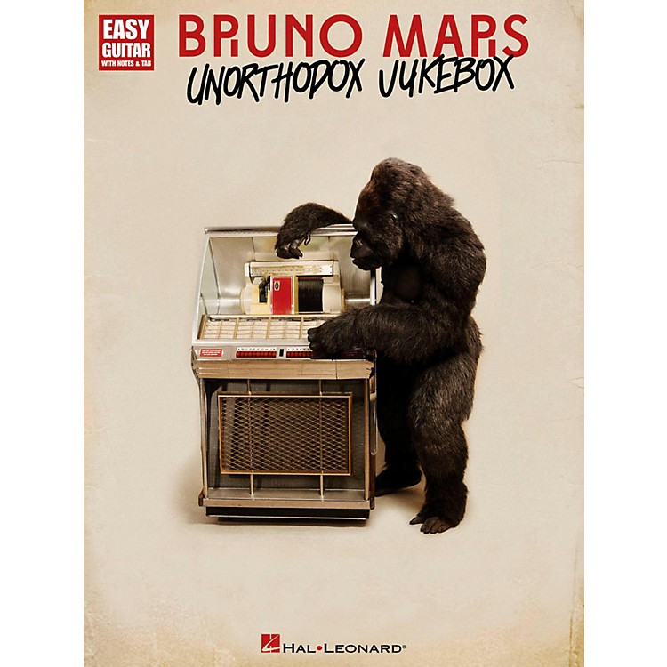 Hal Leonard Bruno Mars Unorthodox Jukebox for Easy Guitar Tab