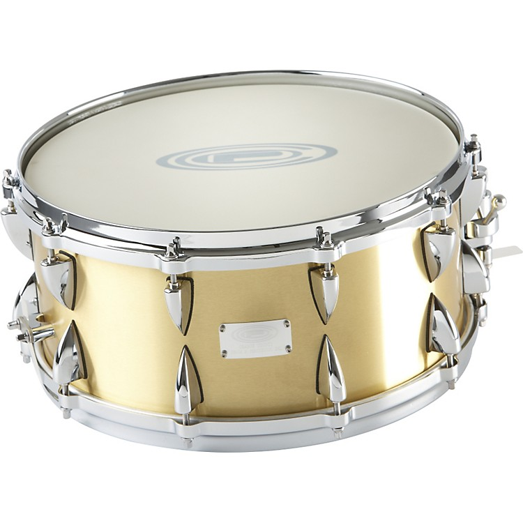 Orange County Drum & Percussion Brushed Bell Brass Snare Drum 6.5x14