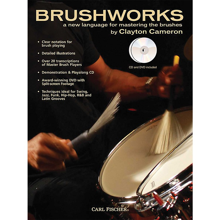 Carl Fischer Brushworks Book/CD/DVD