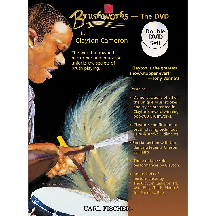 Carl FischerBrushworks the DVD by Clayton Cameron