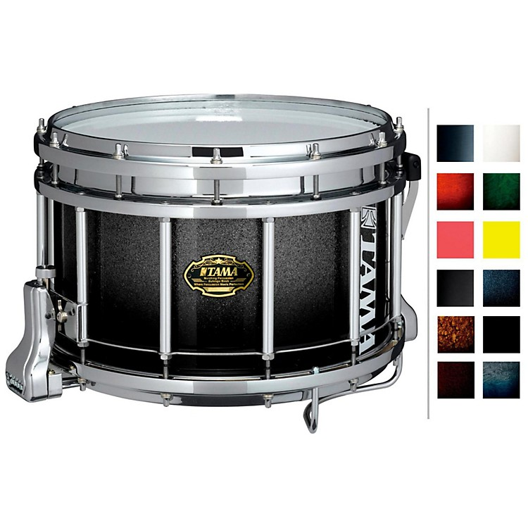 Tama MarchingBubinga/ Birch Snare DrumPiano Black9x14