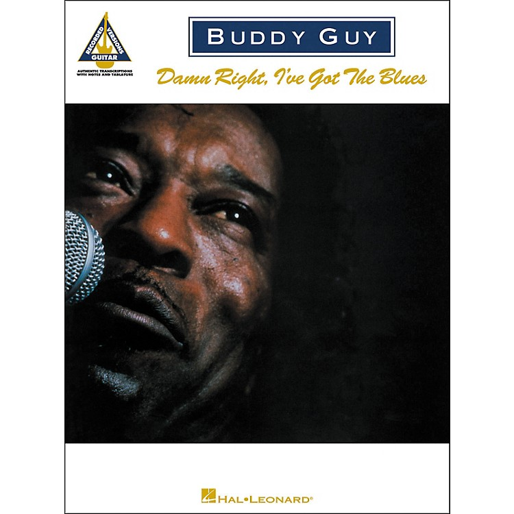 Hal LeonardBuddy Guy - Damn Right, I've Got the Blues Guitar Tab Songbook