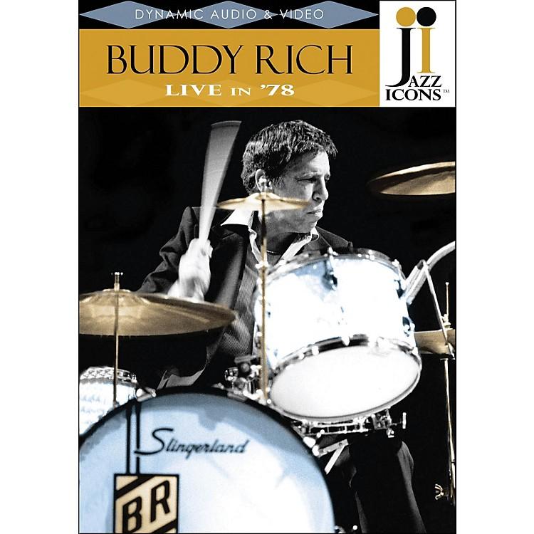 Hal LeonardBuddy Rich Live In '78 DVD Jazz Icons