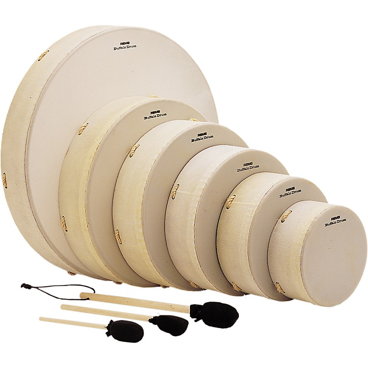 Remo Buffalo Drums 3.5 x 8