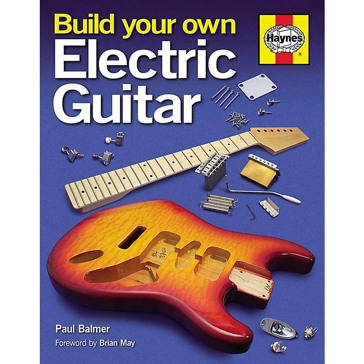 Hal LeonardBuild Your Own Electric Guitar Book (Hard Cover)