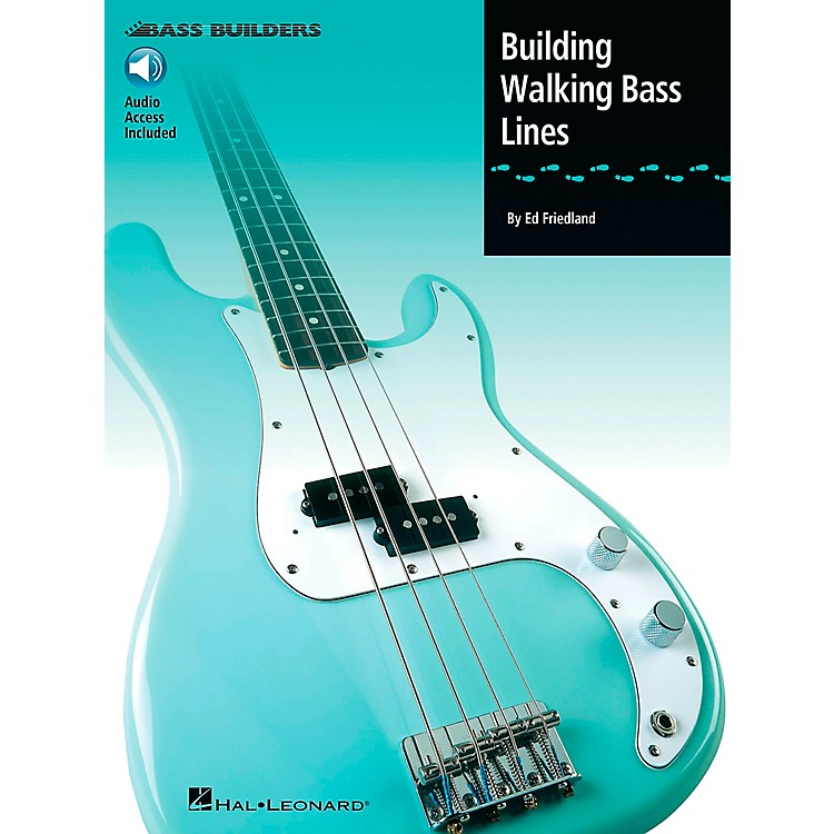Hal Leonard Building Walking Bass Lines (Book/CD)