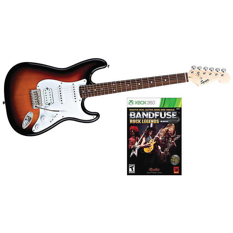 Squier Bullet HSS with BandFuse: Rock Legends