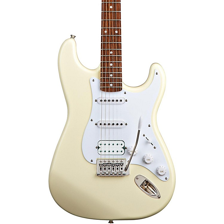 SquierBullet Stratocaster HSS Electric Guitar with TremoloArctic White