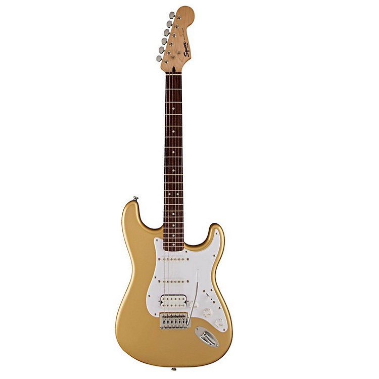 Squier Bullet with Tremolo HSS Aztec Gold
