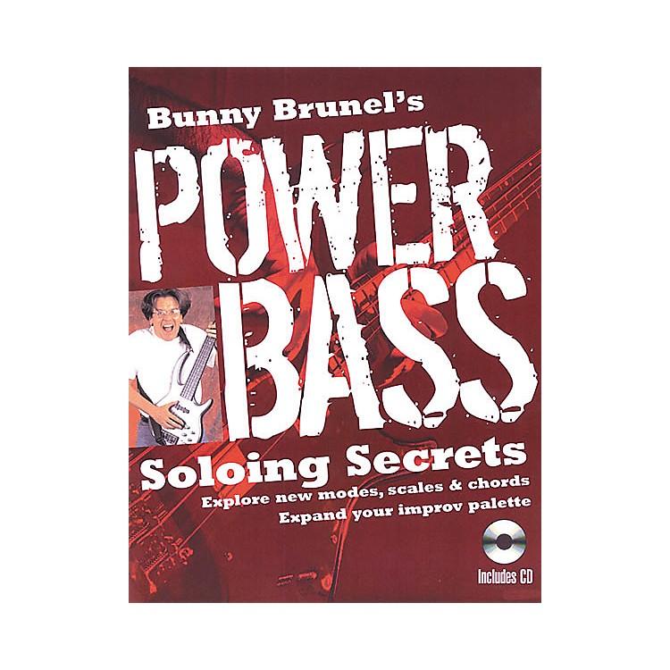 Backbeat BooksBunny Brunel's Power Bass: Soloing Secrets (Book/CD)