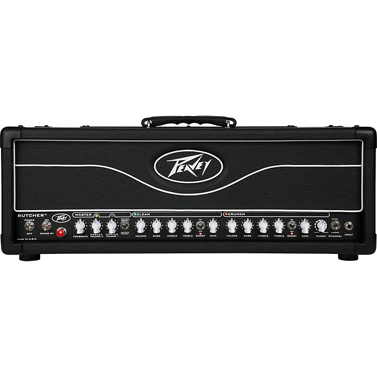 Peavey Butcher 100W Tube Guitar Amp Head Black