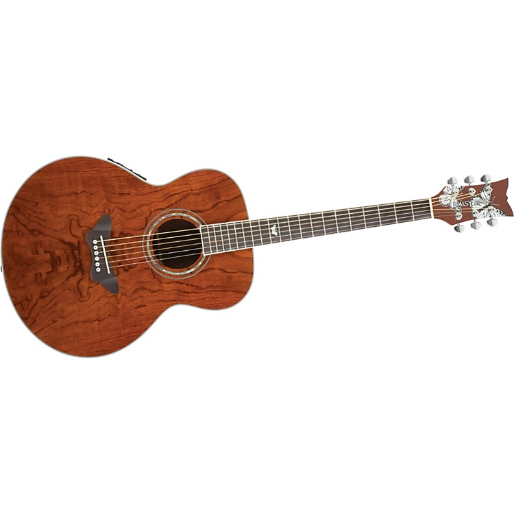 Daisy Rock Butterfly Jumbo Acoustic-Electric Guitar Bubinga