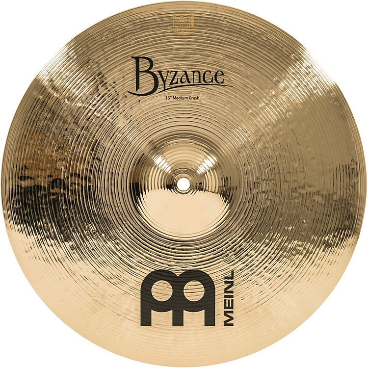 MeinlByzance Brilliant Medium Crash Cymbal16 in.