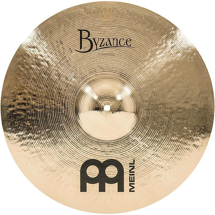 MeinlByzance Brilliant Medium Crash Cymbal18 in.