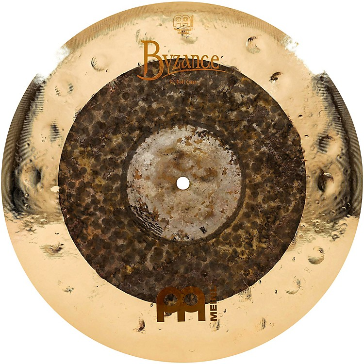 Meinl Byzance Extra Dry Dual Crash Cymbal 16 in.