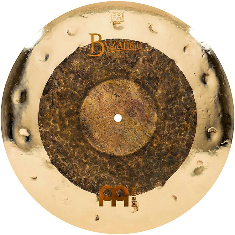 Meinl Byzance Extra Dry Dual Crash Cymbal 18 in.