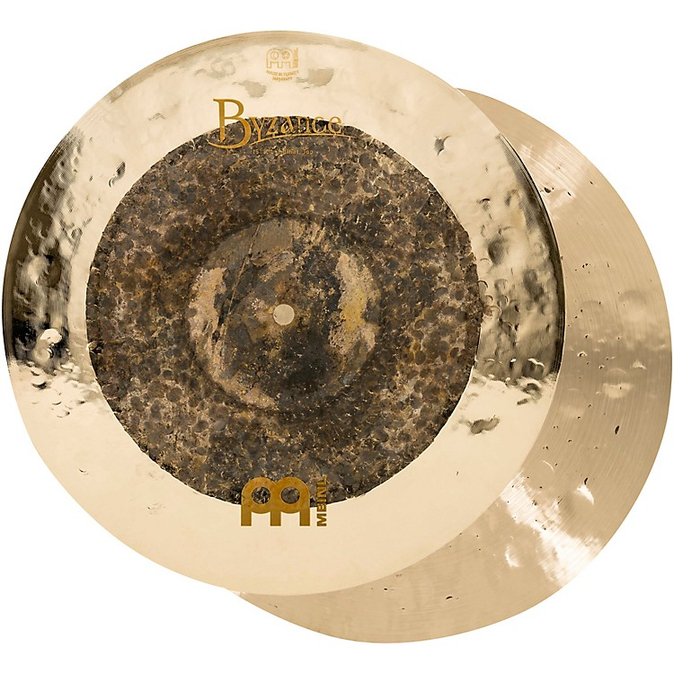 Meinl Byzance Extra Dry Dual Hi-Hat Cymbal Pair 15 in.