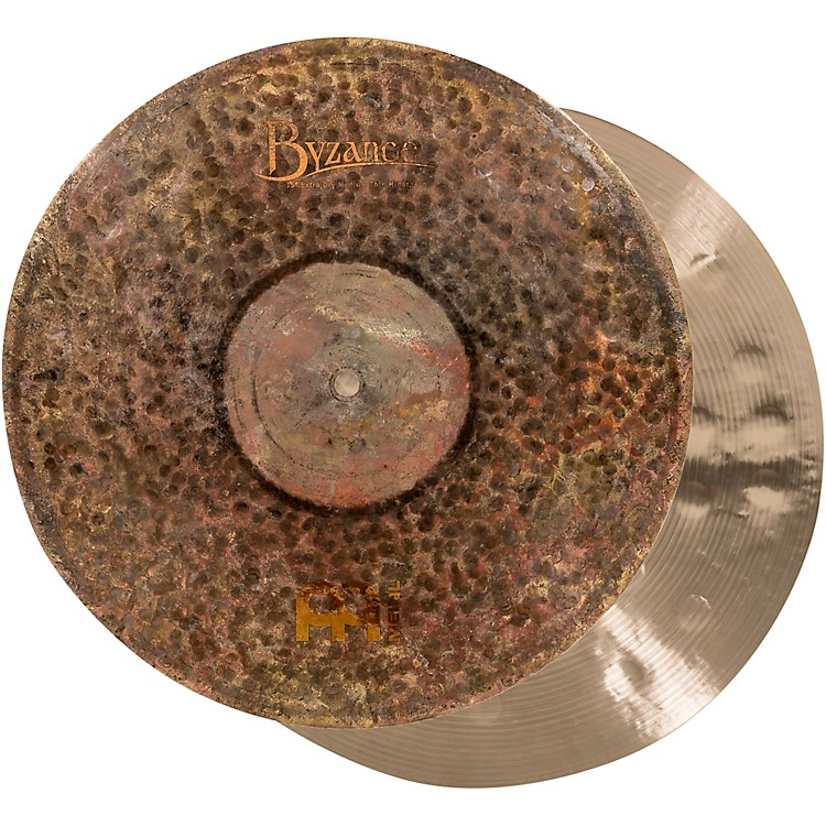 Meinl Byzance Extra Dry Medium Thin Hi-Hat Cymbal Pair 15 in.