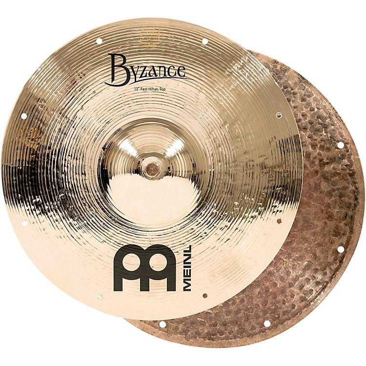 MeinlByzance Fast Hi-Hat Brilliant Cymbals13 in.