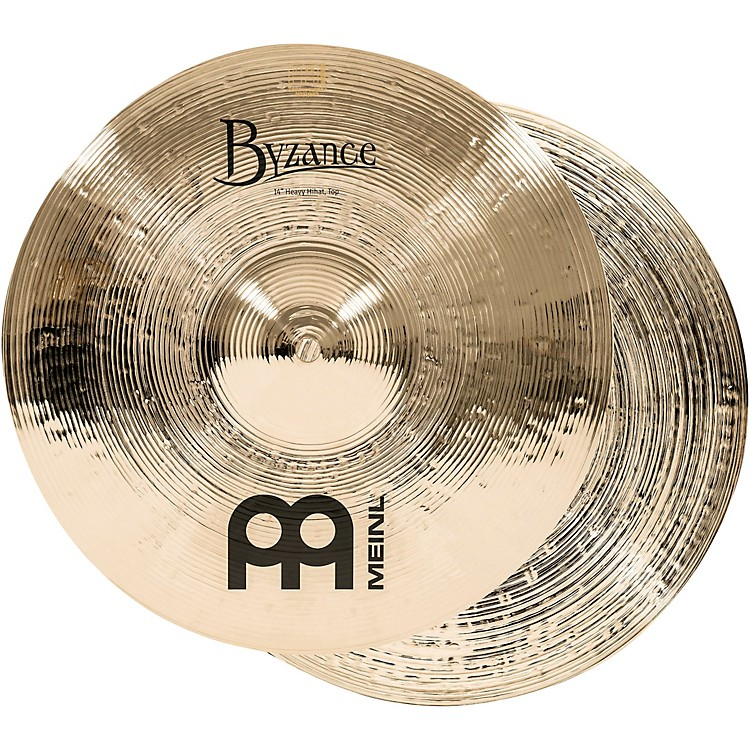 MeinlByzance Heavy Hi-Hat Brilliant Cymbals14
