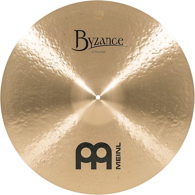 MeinlByzance Heavy Ride Traditional Cymbal22 in.