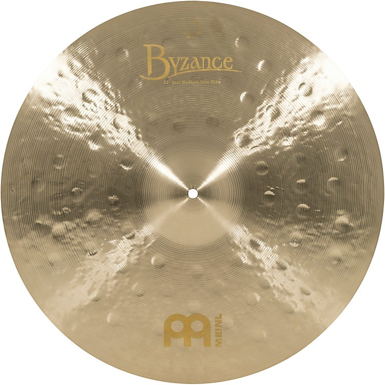 Meinl Byzance Jazz Medium Thin Ride Traditional Cymbal 22 in.