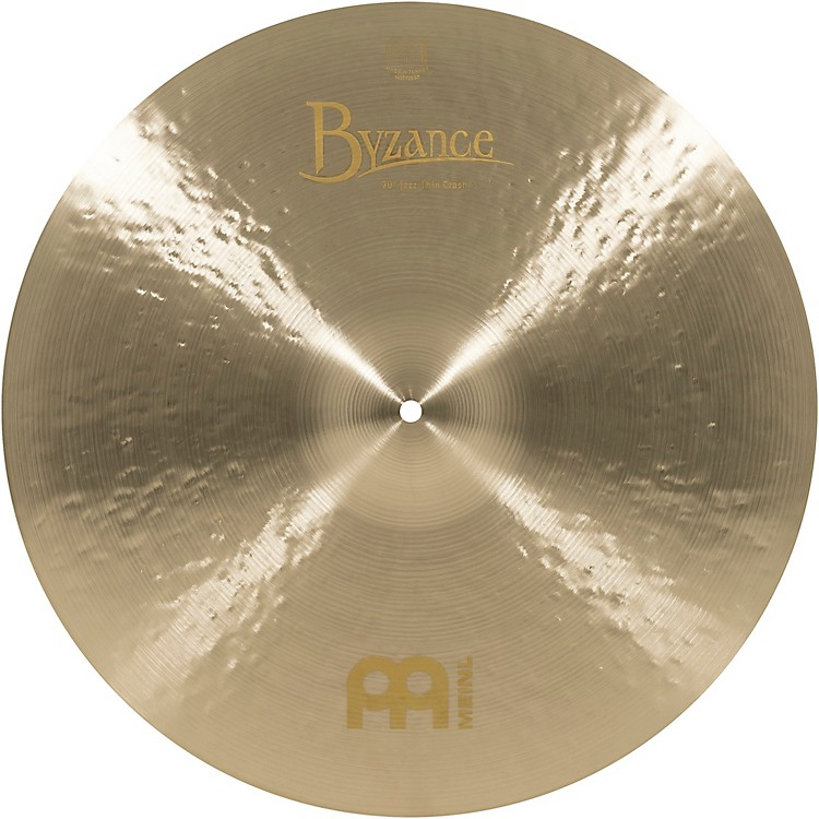Meinl Byzance Jazz Thin Crash Traditional Cymbal 20 in.