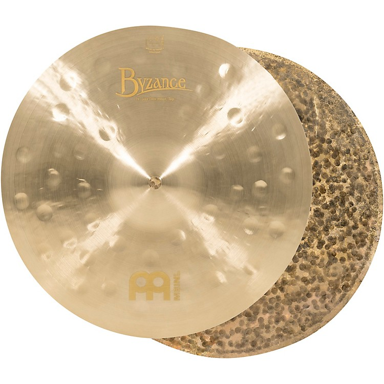 Meinl Byzance Jazz Thin Hi-Hat Traditional Cymbals 14 in.