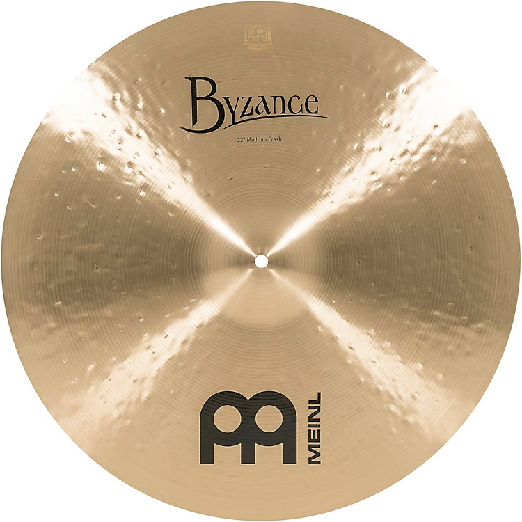 Meinl Byzance Medium Crash Traditional Cymbal 22 In