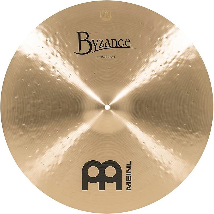 MeinlByzance Medium Crash Traditional Cymbal22 In