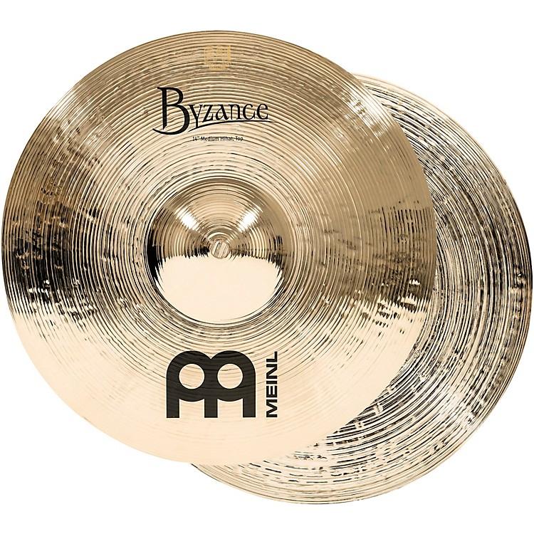 MeinlByzance Medium Hi-Hat Brilliant Cymbals
