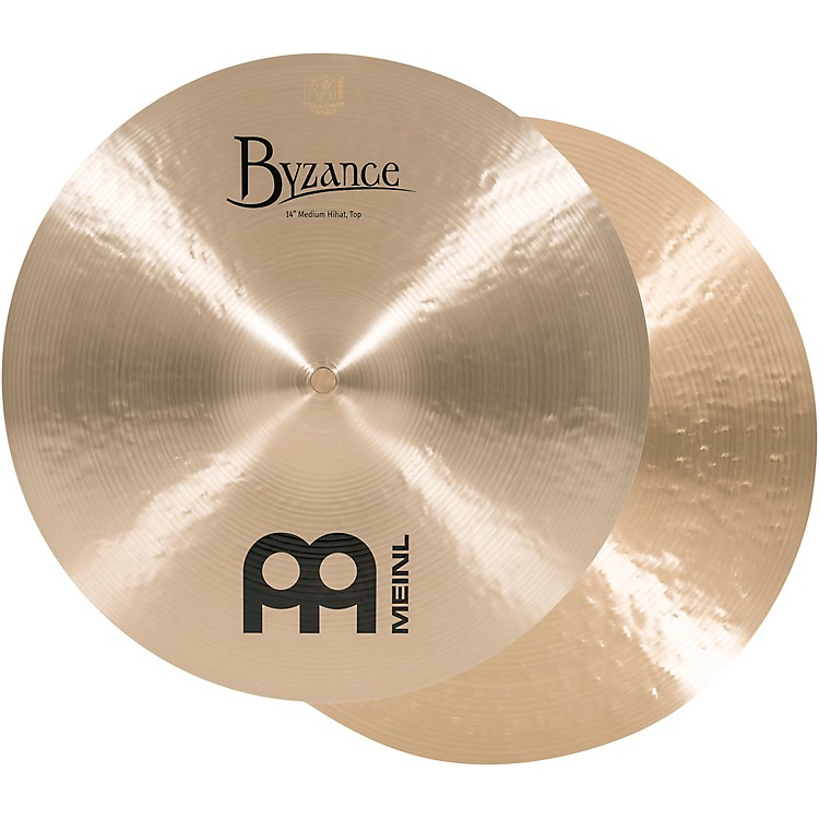 Meinl Byzance Medium Hi-Hat Cymbals  14 in.