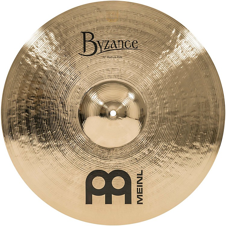 Meinl Byzance Medium Ride Brilliant Cymbal 20 in.