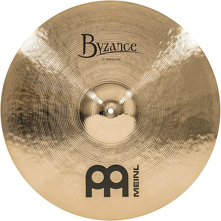 Meinl Byzance Medium Ride Brilliant Cymbal 21 in.