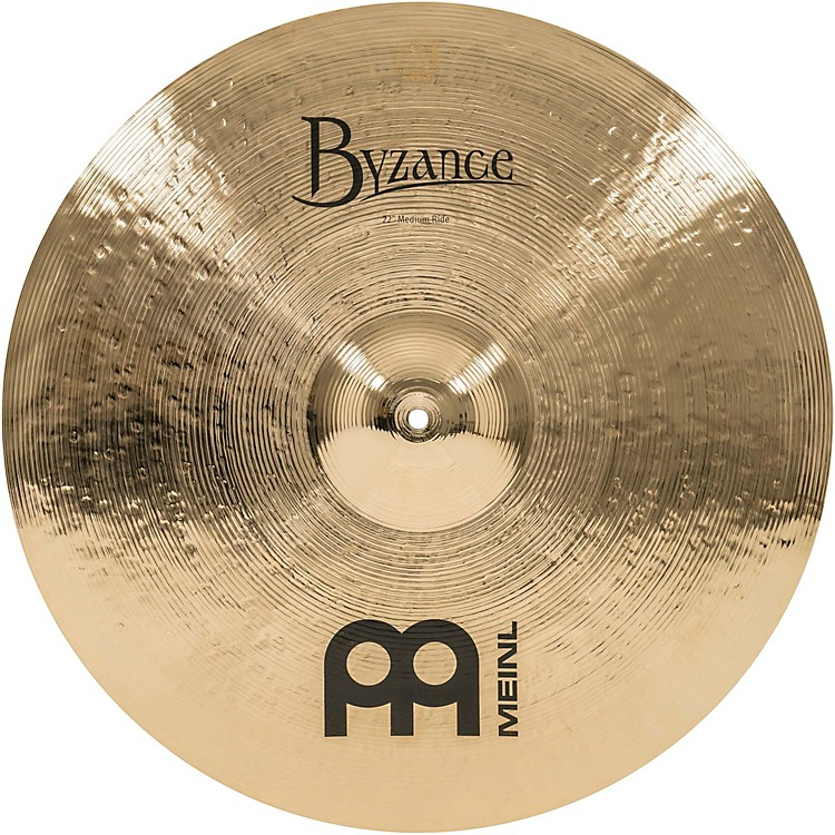 Meinl Byzance Medium Ride Brilliant Cymbal 22 in.