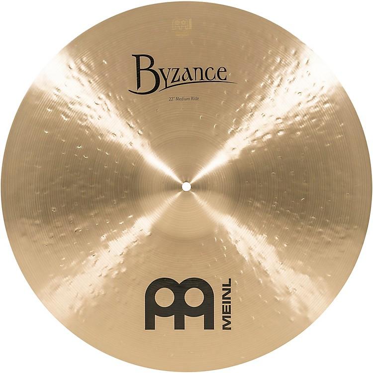 MeinlByzance Medium Ride Traditional Cymbal22 in.