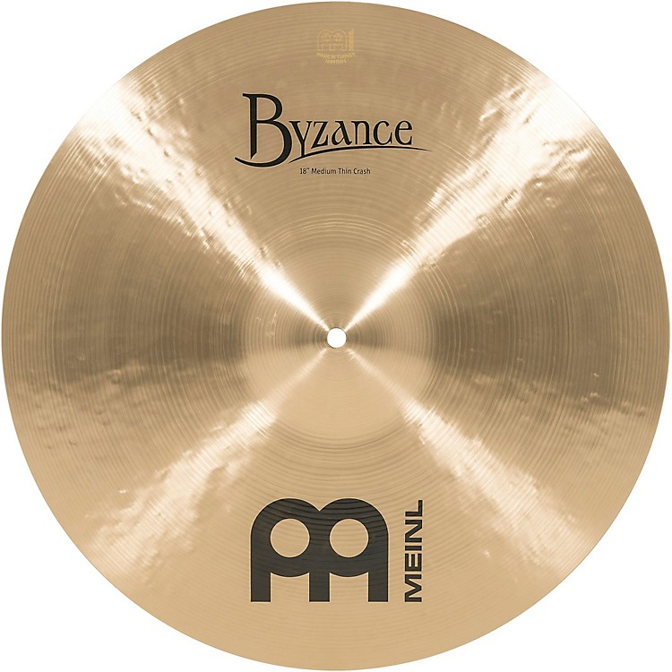 Meinl Byzance Medium-Thin Crash  18 in.